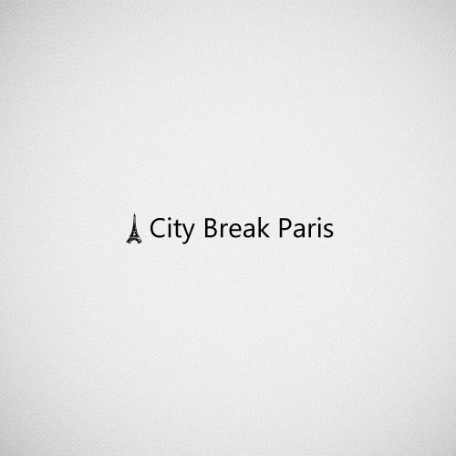 city break paris